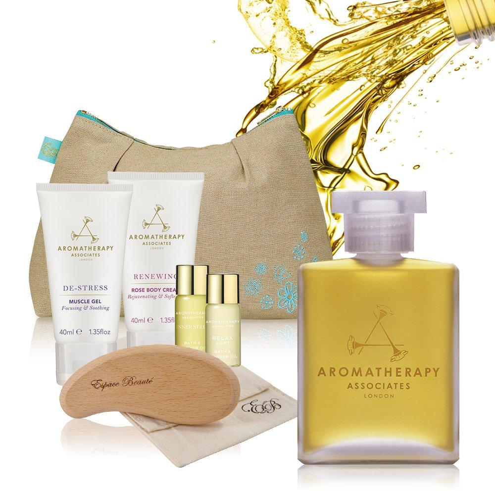AA 英國皇家芳療 明星經典沐浴油母親節特惠組 (Aromatherapy Associates)
