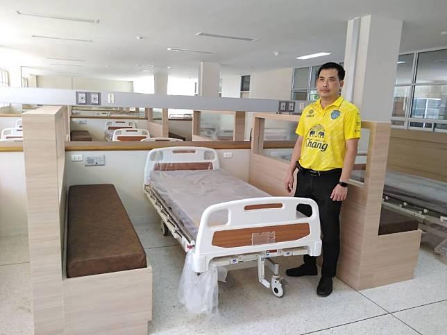บุรีรัมย์ ฮือฮา รพ.คูเมือง พลิกโฉมเตียงผู้ป่วยที่พักญาติห้องรวมสวยงามเป็นส่วนตัวด้วยเงินบริจาค ปชช.