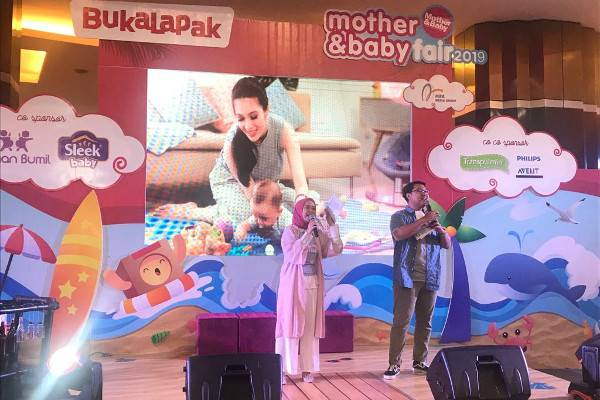 Berbagi Ilmu dan Keceriaan di Mother&Baby Fair Makassar