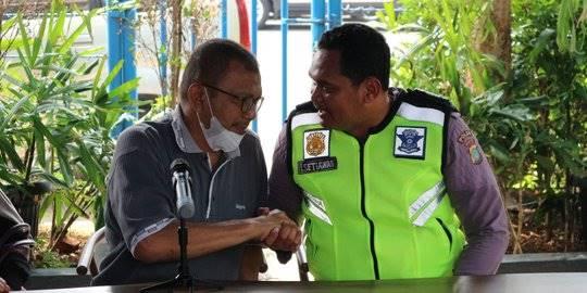 Bripka Eka Setiawan. ©2019 Merdeka.com/Nur Habibie