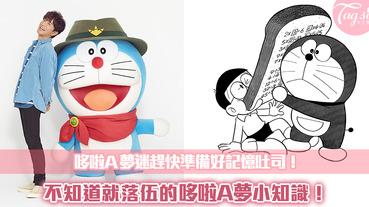 兒童偶像哆啦A夢的個人檔案~這些關於哆啦A夢你不知道的小秘密