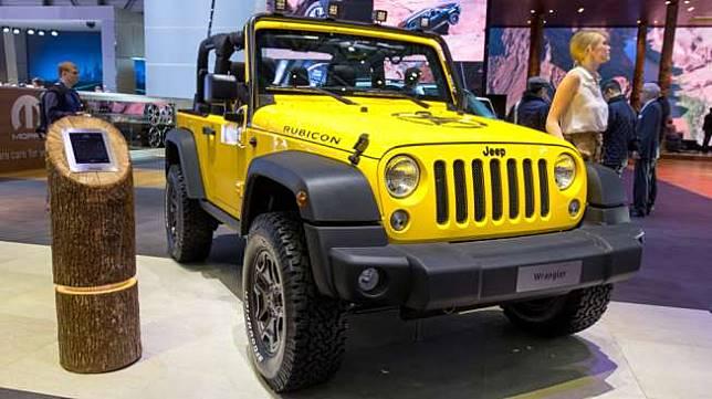 Jeep Wrangler Rubicon (Shutterstock)