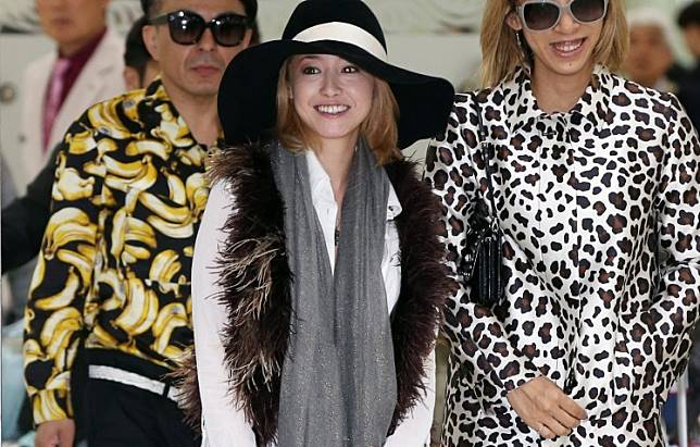 This photo taken on April 16, 2013 shows Japanese actress Sawajiri Erika arriving at South Korea's main international airport for a visit to promote her new movie.