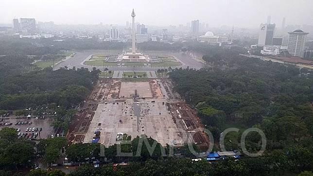 Pemerintah DKI: Pembangunan Monas Belum Selesai Sejak Didirikan