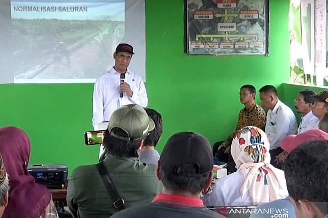 Mentan optimalkan 500 ribu lahan rawa di enam provinsi