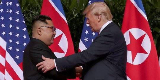 Bayang-bayang Keraguan Usai Pertemuan Bersejarah Trump-Kim Jong-un