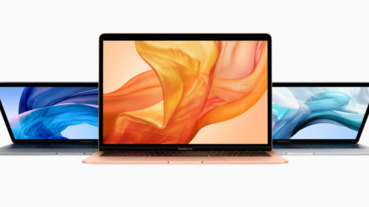 Macbook Air更新了,加入 Retina 螢幕、機身連接埠只剩兩個 Thunderbolt 3