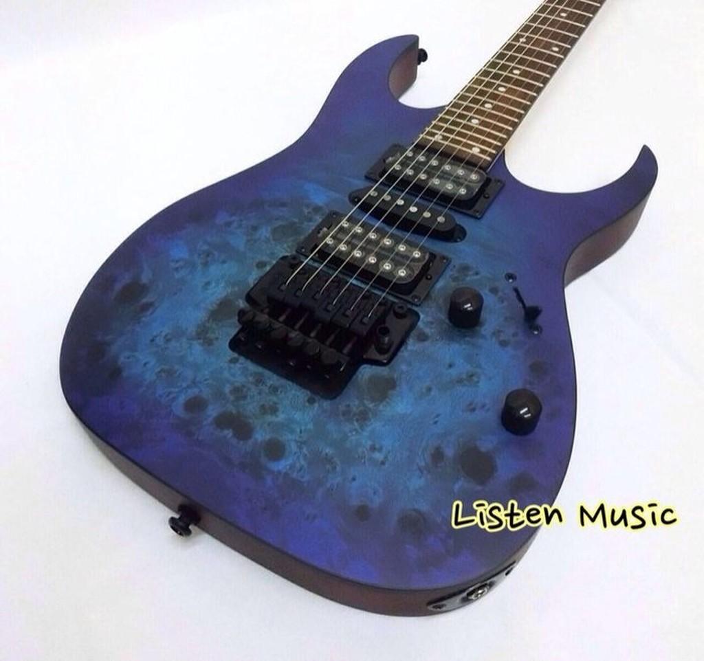 立昇樂器 贈多樣配件 Ibanez RG470PB-SBF 海洋藍漸層 電吉他 雙單雙 大搖座 日本名牌 公司貨