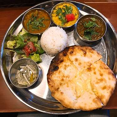 実際訪問したユーザーが直接撮影して投稿した西新宿インド料理スパイスバザール アチャカナの写真