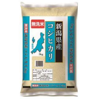 パールライス 新潟県産コシヒカリ 無洗米