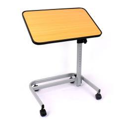 ◎旋轉桌板,輕鬆調整角度,隨心所欲|◎2CM加厚木紋桌板,軟塑料包邊|◎桌面高度多段調整,加固煞車,簡便收合商品名稱:富士康移動旋轉餐桌FZK-270207品牌:富士康種類:無礙空間注意事項:消費者使