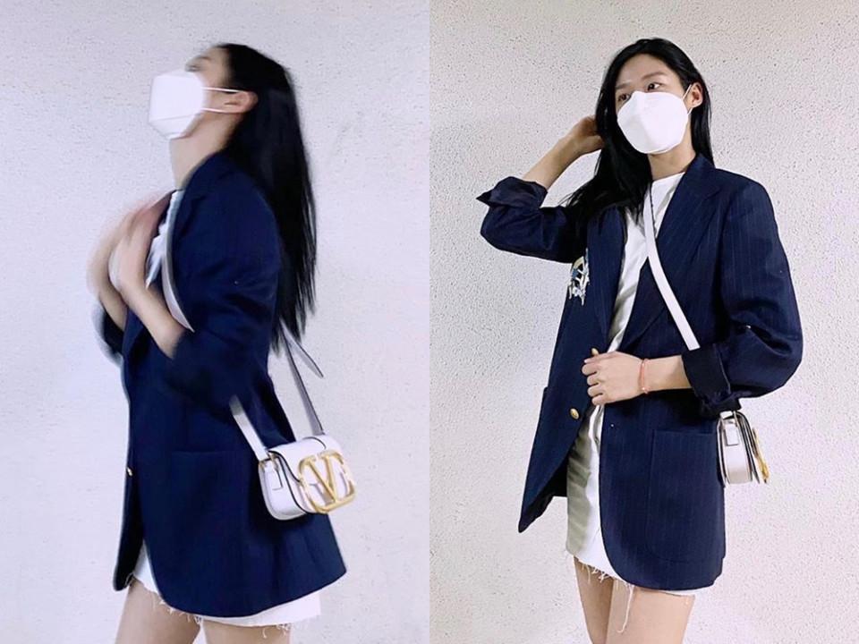 雪炫私服:VALENTINO GARAVANI SUPERVEE