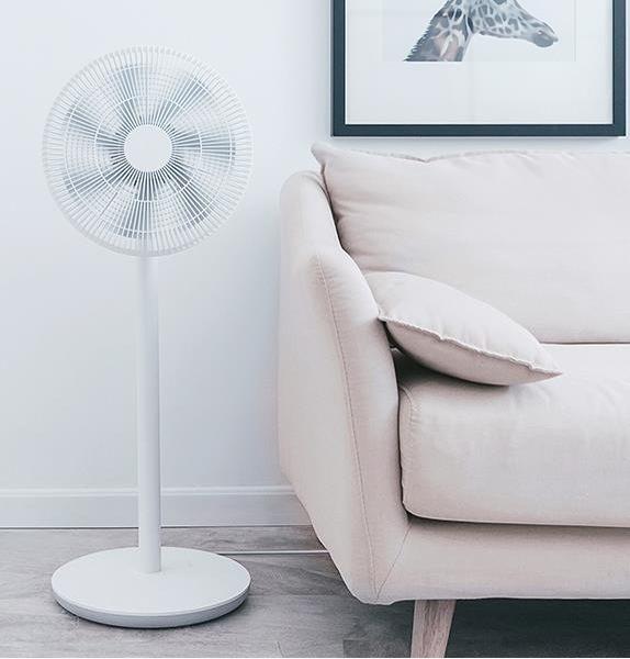 風扇 小米 米家電風扇落地扇家用遙控學生宿舍定時搖頭立式臺式電扇 DF 維多