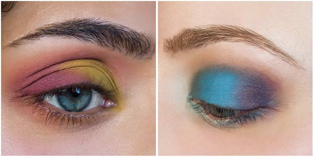 品牌的眼影出名極度顯色。
