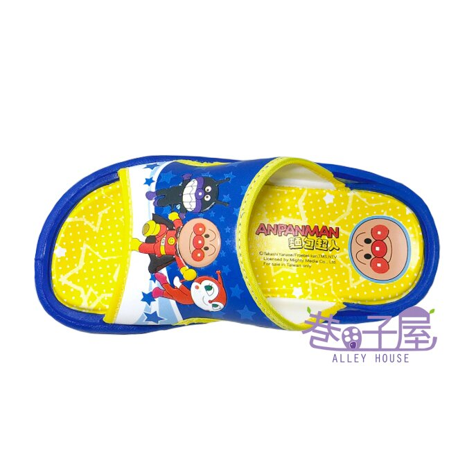 麵包超人童款運動休閒拖鞋 [80416] 藍 MIT台灣製造【巷子屋】