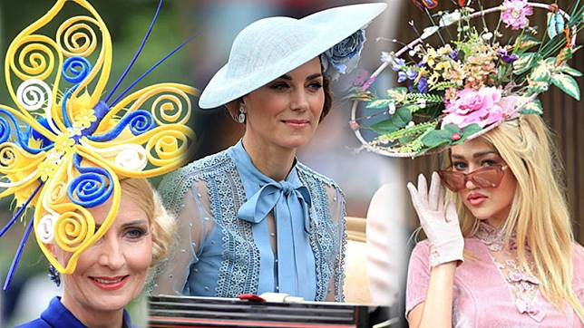 รอยัล แอสคอต งานแข่งม้าสุดยิ่งใหญ่ รันเวย์ประชันแฟชั่นหมวก ของผู้ดีอังกฤษ