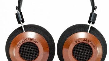 DOLCE & GABBANA BY GRADO LABS 紅木耳罩式耳機