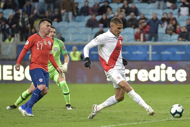 Peru stun champions Chile 3-0 to reach Copa America final