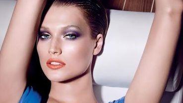 偏不愛粉紅的藍紫春妝 強烈時尚感無法擋