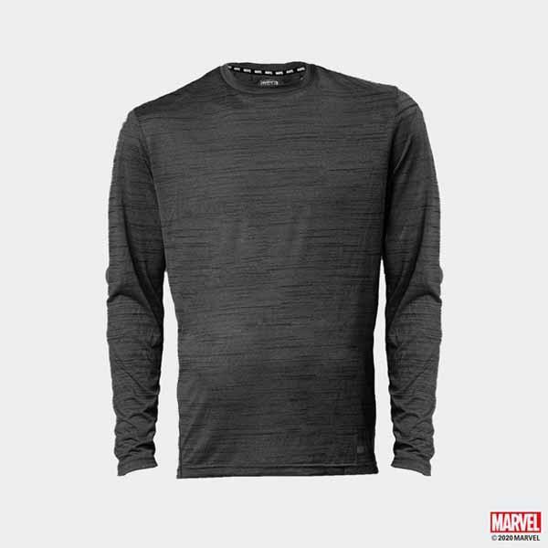 漫威MARVEL 正版授權服飾運動高彈性吸濕排汗材質素色漫威上衣商品材質100% polyester--------------------------------------------------