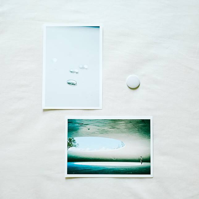 由於館內不能拍照,所以只好選購明信片好好保留記憶。