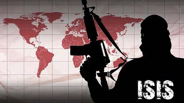 Ilustrasi ISIS.
