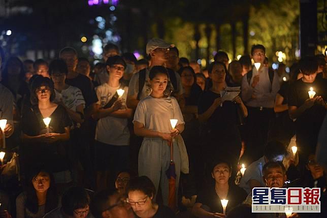 今年香港六四晚會被禁止舉辦。資料圖片