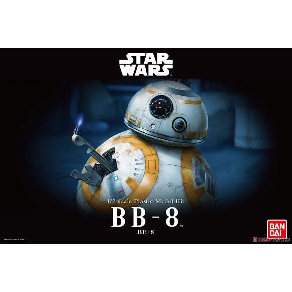 玩具e哥 組裝模型 1/2 STAR WARS 星際大戰7 原力覺醒 BB-8 09058
