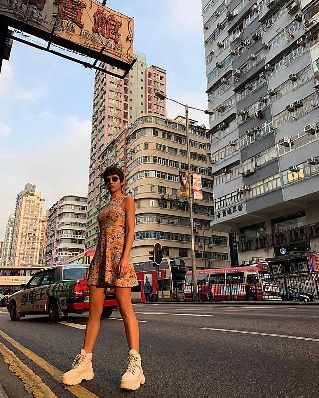 香港街頭!