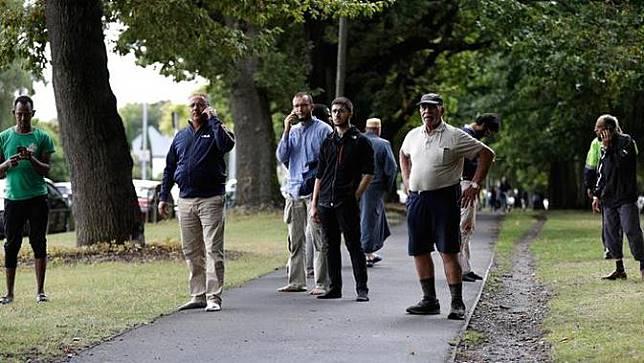 Ada Tulisan pada Senjata Pelaku Penembakan di Masjid Selandia Baru, Ini Artinya