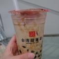 甜ミルクティー - 実際訪問したユーザーが直接撮影して投稿した新宿スイーツ台湾甜商店 新宿店の写真のメニュー情報