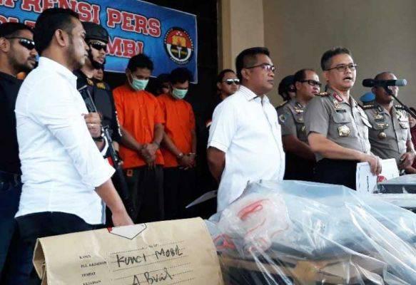 Dua Pelaku Investasi Bodong Di Jambi Diamankan