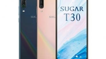 五千大電池 SUGAR T30 中華電信獨賣 單機價 $4,990 即日起上市