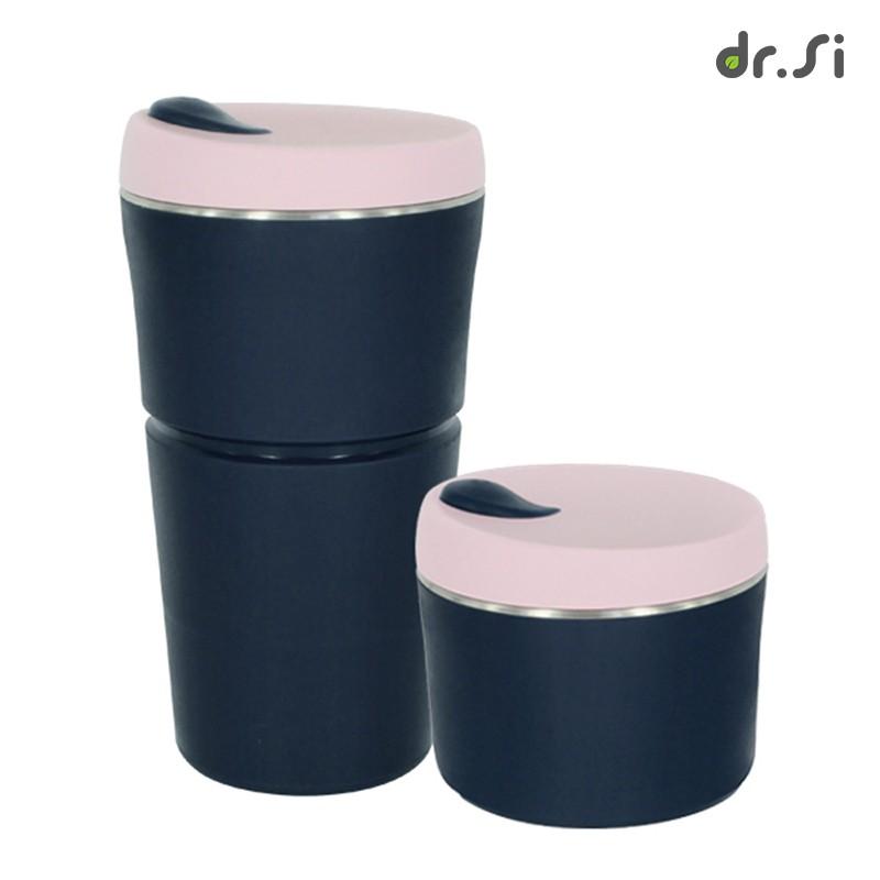 品牌:dr.Si 矽寶巧商品特色▪️ 耐熱耐冰 -40℃ ~ 250℃▪️ 100% 白金矽,不含塑化劑、不含雙酚A (BPA FREE)▪️ 304 不鏽鋼杯口設計,挺立堅固杯身▪️ 輕巧好收摺,方
