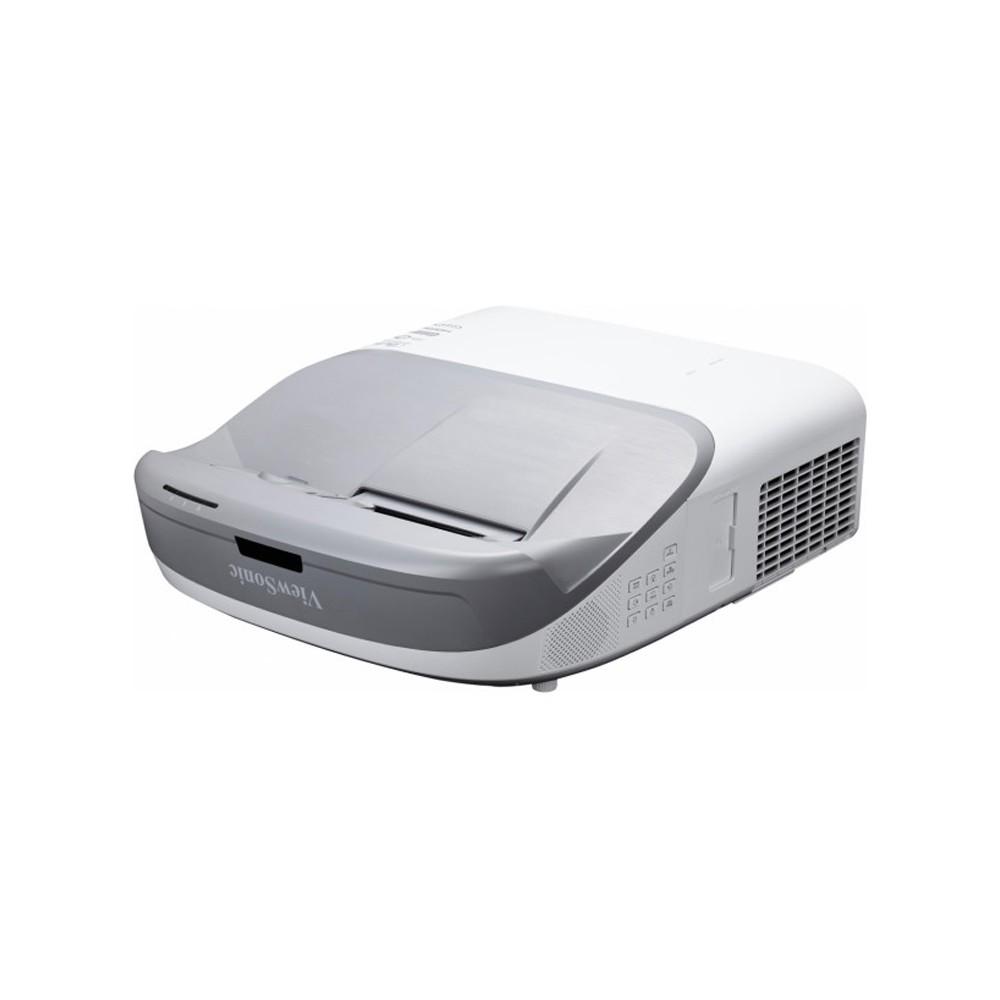 ViewSonic PS750W 3300 ANSI 流明 WXGA 超短焦互動式 DLP 投影機★0.23超短焦投射比★適用於學校投影的全方位解決方案★10 點同步觸控互動性★vBoard for
