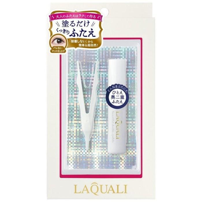 日本原裝進口 LAQUALI 單眼皮救星 雙眼皮膠 簡單自然不沾黏眼皮