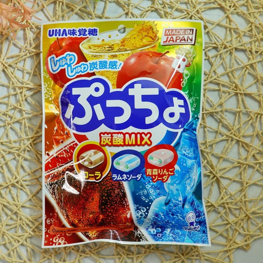 味覺噗啾綜合汽水軟糖 90g【4902750397989】(日本糖果)