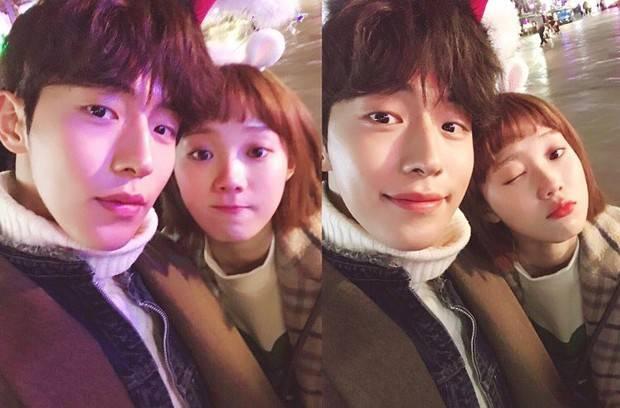 Kabar kencan pasangan yang satu ini membuat heboh para penggemar, pasalnya ditahun 2017 Dispatch merilis foto Nam Joo Hyuk dan Lee Sung Kyung sedang bersama.