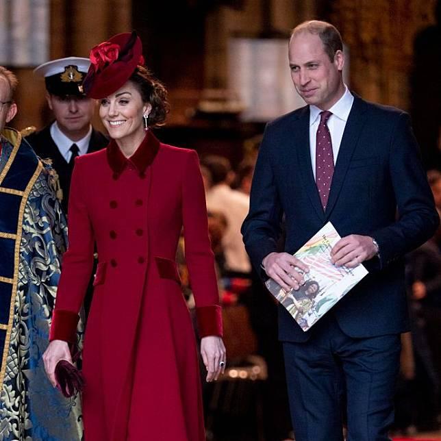 Kate Middleton dan Pangeran William Beri Ucapan Terima Kasih