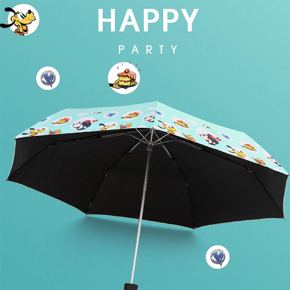 ◆ 迪士尼系列超輕折傘◆ 採用強化鋁合金、玻璃纖維抗強風材質◆ 擁有抗UV100%黑膠PG防水布