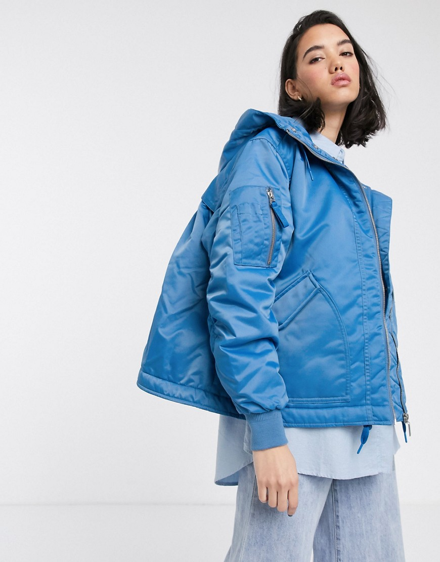 Jacket by Hunter Feel the benefit Insulated up to -5°C Quilted lining with one internal press-stud p