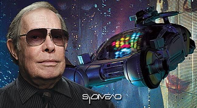 Syd Mead參與過的科幻片包括《2020》(銀翼殺手),無不已成概念藝術經典。(互聯網)