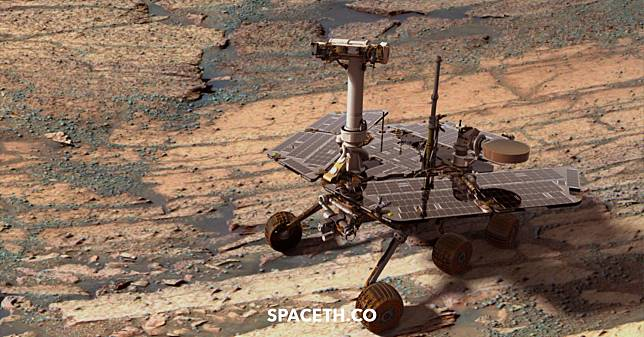 พายุฝุ่นกำลังอ่อนตัวลงบนดาวอังคาร กับแผนกู้ยาน Opportunity