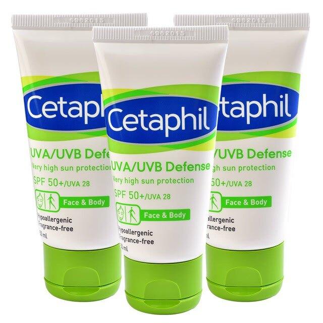 舒特膚Cetaphil 極緻全護低敏防曬霜50g