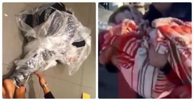 Phẫn nộ: Bé 6 tuổi bị quấn nilon, vứt ngoài đường đói khát vì mẹ coi trọng chó hơn máu mủ