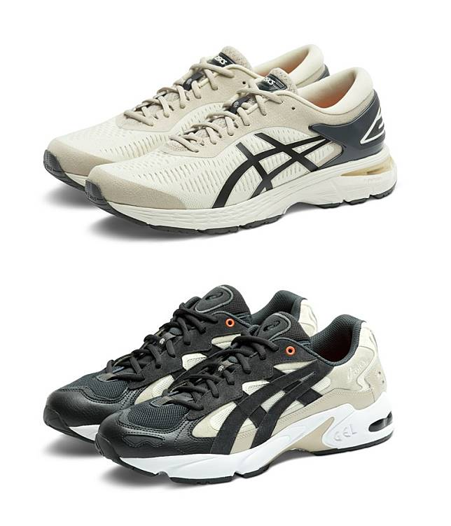 GEL-KAYANO 25 Birch Phantom、GEL-KAYANO 5 OG Cream Phantom(互聯網)