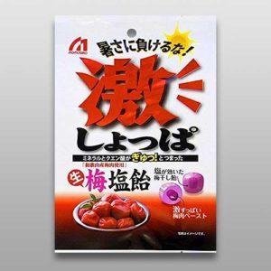 桃太郎製菓 激鹹生梅鹽糖