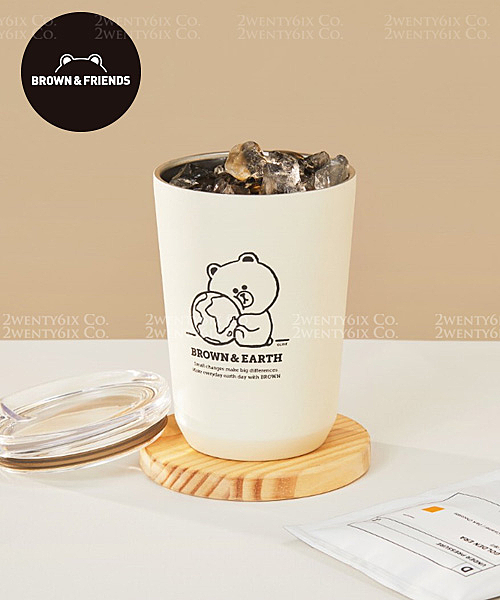 A款 熊大不鏽鋼保冰/保溫杯 360ml n100% 韓國空運正品 n本店杜絕假貨