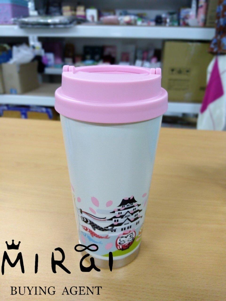 《日本現貨區!!》日本-星巴克 期間限定 櫻花富士山 隨行杯473ml