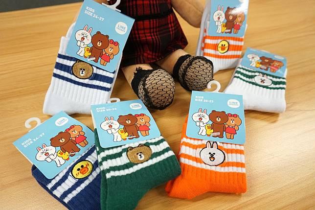 今次童裝特別多,襪仔真係好可愛呀!